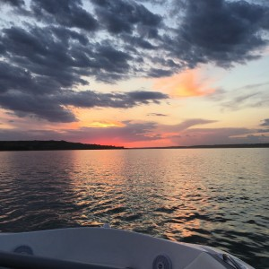 Sunset on Last Mountain Lake, Saskatchewan, Canada