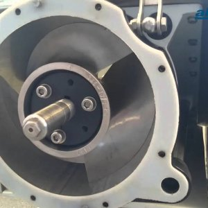 AJ 245 impeller adjustment - shim plate retrofit