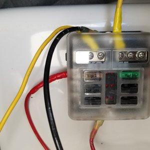 Second fuse box