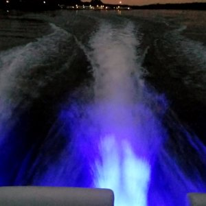 Underwater Lights Aft View